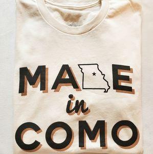 White Missouri T-Shirt (Boutique)